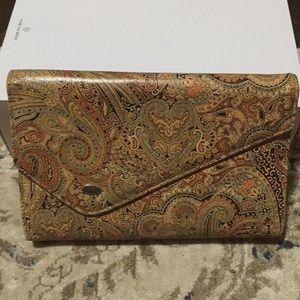 Vintage Paisley Clutch
